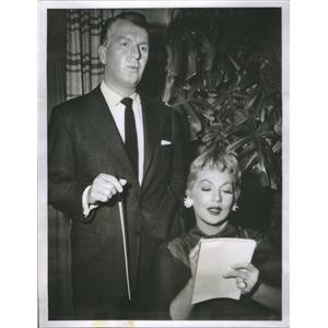 1956 Press Photo Don Porter American Film & Television Actor - RSC88233