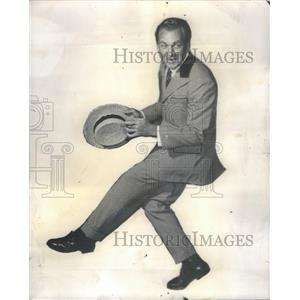 1959 Press Photo Forrest Tucker Music Man - RSC59217