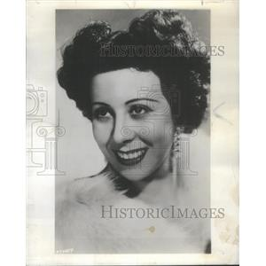 1954 Press Photo Gloria Lind Appears Four Lyric Theatre Productions - RSC38301