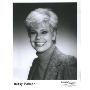 1951 Press Photo Betsy Palmer American actress regular Panelist game show