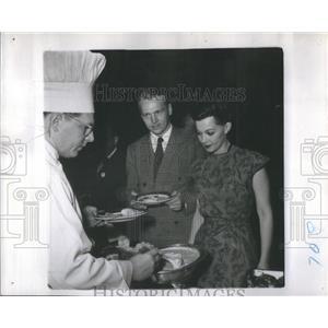 1947 Press Photo Lund Chartan - RSC09389