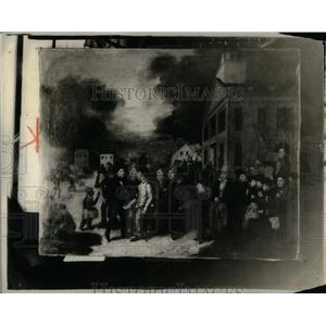 1928 Press Photo Detroit People History - RRX05543