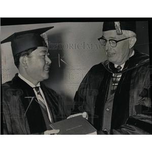 1959 Press Photo Thanat Khoman - RRW70097