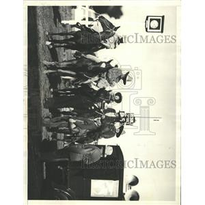1933 Press Photo Pony Express Century Progess Expo - RRX93499