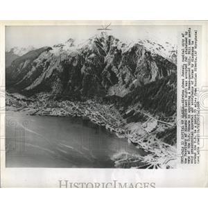 1958 Press Photo Juneau Alaska Statehood Vote Air View - RRX85177