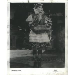 1961 Press Photo Gertrude Niesen encore devoted following fact - RSC92911