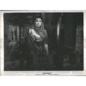 1955 Press Photo Sylvana Mangaon Actress Penelope Ulysses - RSC99777