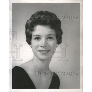 "1960 Press Photo Actress Patsy Peterson in"" Fiorello"" - RSC93913"
