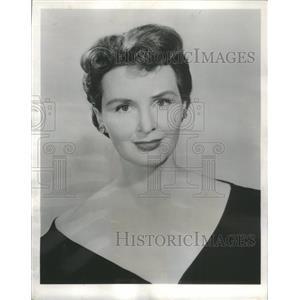 1956 Press Photo Frances Reid American Film & Television Actress - RSC43427