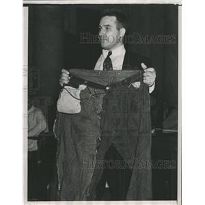 1937 Press Photo James Musgrove worker republic Warren - RRW40303