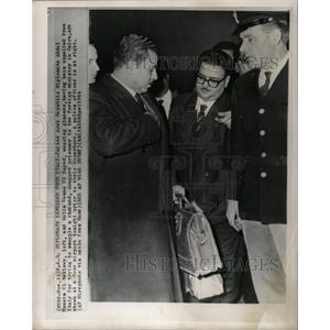 1964 Press Photo Espionage Italy U.A.R. Diplomats - RRX73637