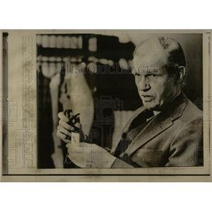 1976 Press Photo Alger Hiss Soviet Spy