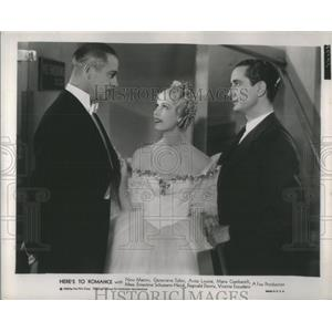 "1935 Press Photo Nino Martini in "" HERE'S TO ROMANCE' - RSC99413"