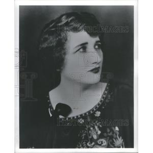 Press Photo Marjorie Maine American Character Actress - RSC92635