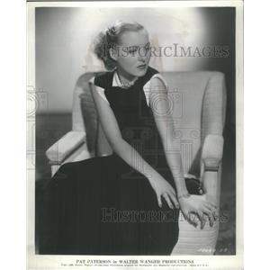 """1936 Press Photo Actress Pat Paterson in """"Spendthrift"""" - RSC97033"""