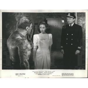 1944 Press Photo John Loder, Dorothy Comindore, William Bendix Hairy Ape