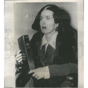 1951 Press Photo Anita Roddy Eden American Film Television Actress Chicago