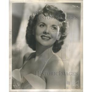 1951 Press Photo Gloria Lind Actress Singer - RSC01621