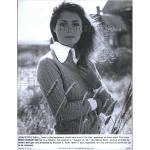 "1971 Press Photo Actress And Model Jennifer O'Neill Stars In ""Summer Of '42"""