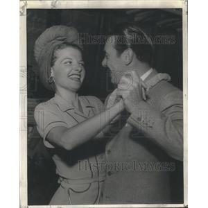 1941 Press Photo Ann Sheridan American Film Actress. - RSC31541