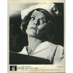 1971 Press Photo Actress Diane Varsi iJohnny Got His Gun Movie - RSC45903