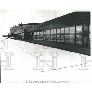 1969 Press Photo Terminal Building Midway Airport- RSA06687