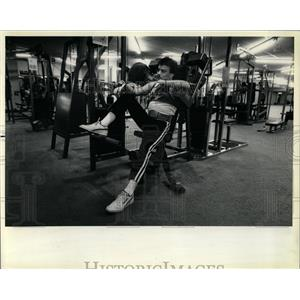 1987 Press Photo Bradley Johnson Charlie Club - RRW66133