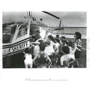 1987 Press Photo Hernando County Florida Aviation Show