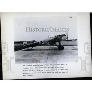 PRESS PHOTO AVIATION JUNKER'S J-2 - RRX75453