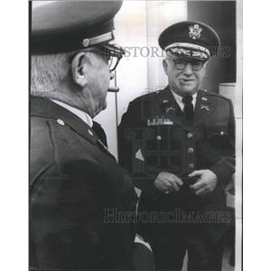 1967 Press Photo Chicago Resident Sidney T. Holzman World War II Uniform Soldier