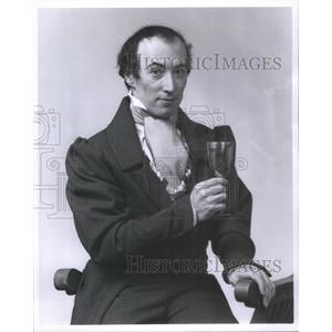 1976 Press Photo William J Norris American Actor Producer Chicago Illinois