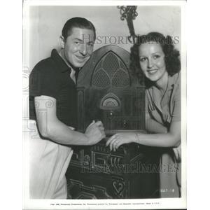 1935 Press Photo Joe Penner Collegiate Actress - RSC98515