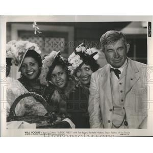 1934 Press Photo Will Rodgers Stars In Judge Priest - RSC47085