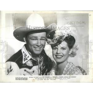 1944 Press Photo Roy Rogers American Film & Television Actor - RSC47047