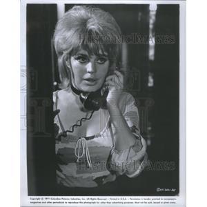"1972 Press Photo Christiane Maybach in ""$"" - RSC80413"