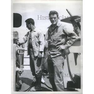1957 Press Photo Jon Lindbergh (Actor) - RSC01833