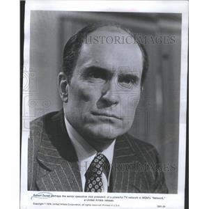1977 Press Photo Robert Duvall Actor Network MGM - RSC81605