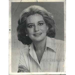 1977 Press Photo Barbara Walters ABC News Television Hostess Personality