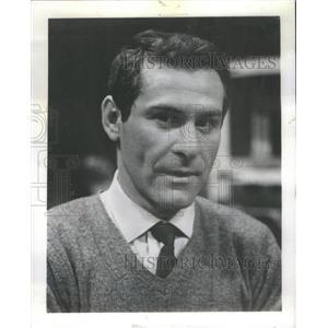 1964 Press Photo Sam Wanamaker Royal Gambit Goodman Theatre Actor - RSC79651