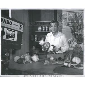 1956 Press Photo Green Thumber John Ott - RSC74937