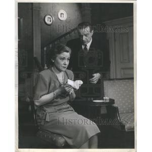 1945 Press Photo Leons Poers and William Harrigan Dear Ruth - RSC88081