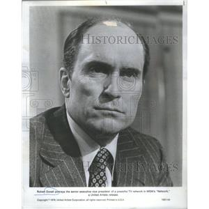 1977 Press Photo Robert Duvall Actor Network MGM - RSC81627