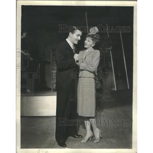 1945 Press Photo Mary Martin and John Boles - RSC02687