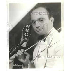 Press Photo Barry Salter 1940 Television Radio Star NBC Network - RSC94881