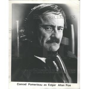 1979 Press Photo Conrad Pomerleau American Film Broadway Actor Chicago Illinois
