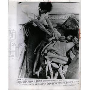 1961 Press Photo Killed Katanga fighting European Red - RRX65661