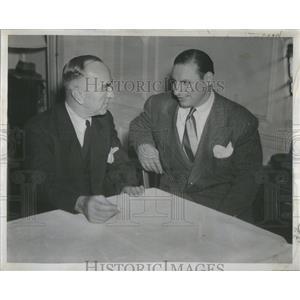 1945 Press Photo U.S. World War I fighter ace Eddie Rickenbacker, airline CEO