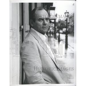 """1978 Press Photo Gerald S. O'Loughlin """"Sparrow"""" - RSC64581"""
