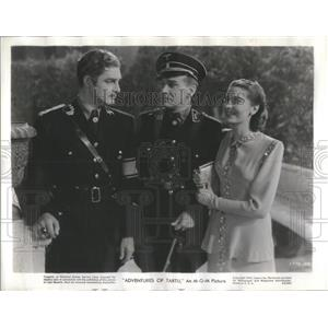 1943 Press Photo Walter Rilla German Film Actor Adventures Tarzu Germany