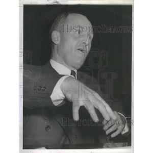 1942 Press Photo Brig. Gen. Hanford MacNider - RSC91893